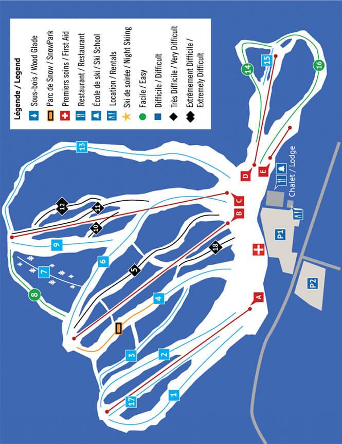 Ski Vorlage Snowboarding Map