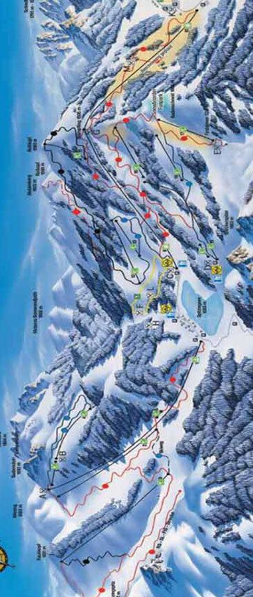 Schliersee Snowboarding Map