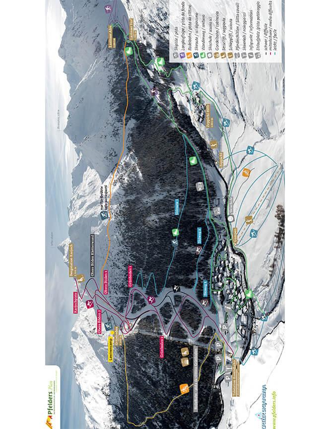 Pfelders Plan Snowboarding Map