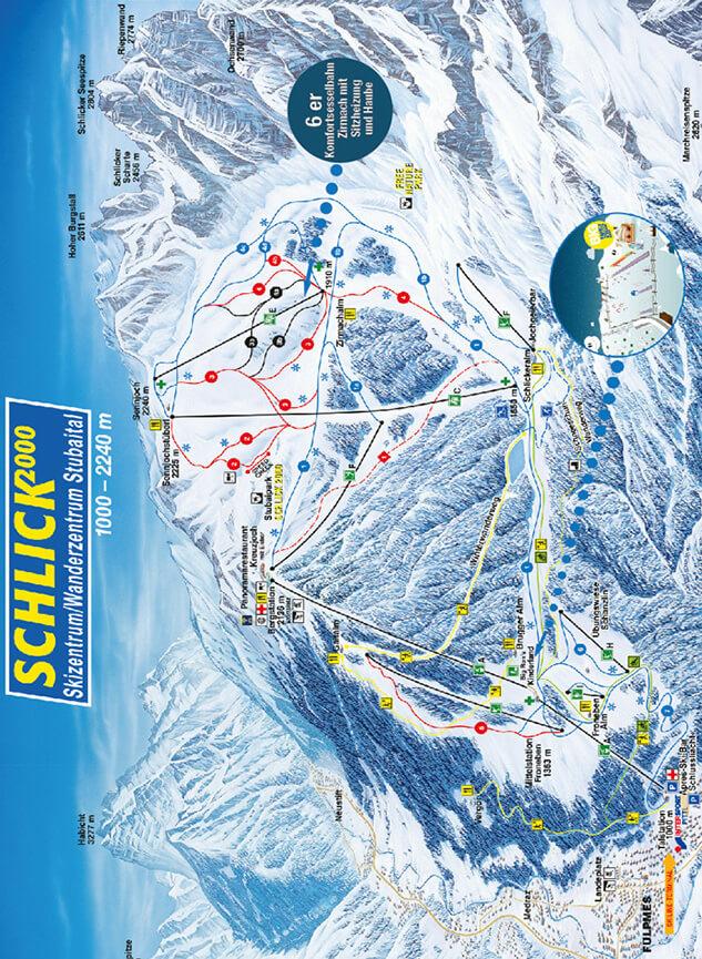 Schlick 2000 Snowboarding Map