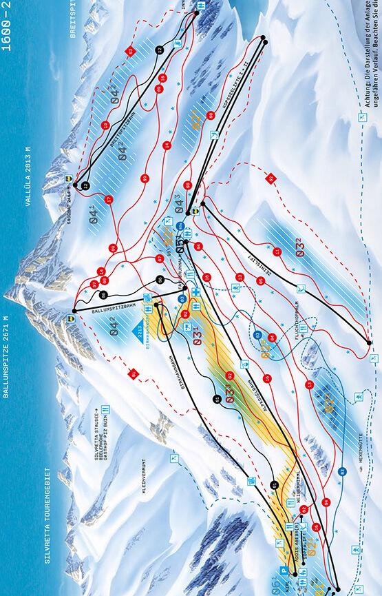 Galtuer Snowboarding Map