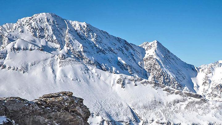 Snowboading Val Cenis, France