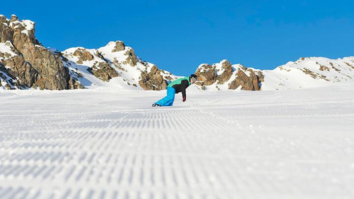 Snowboading In Davos (Destination Davos Klosters)