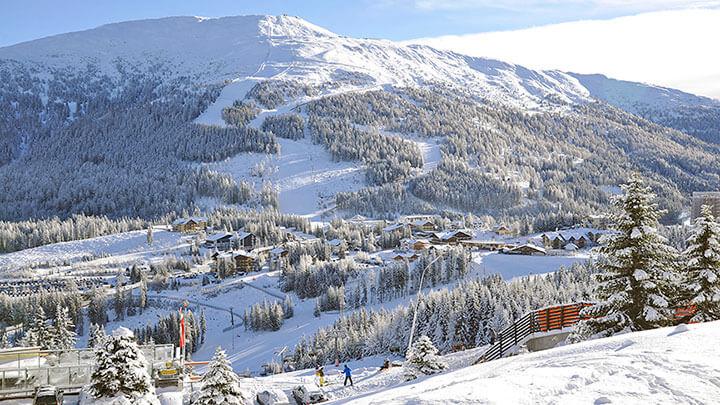 Snowboading In Katschberg, Austria