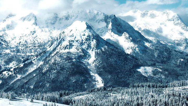 Snowboading Dachstein West, Austria
