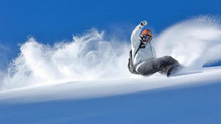 Snowboarding Elsigen-Metsch Ski Area