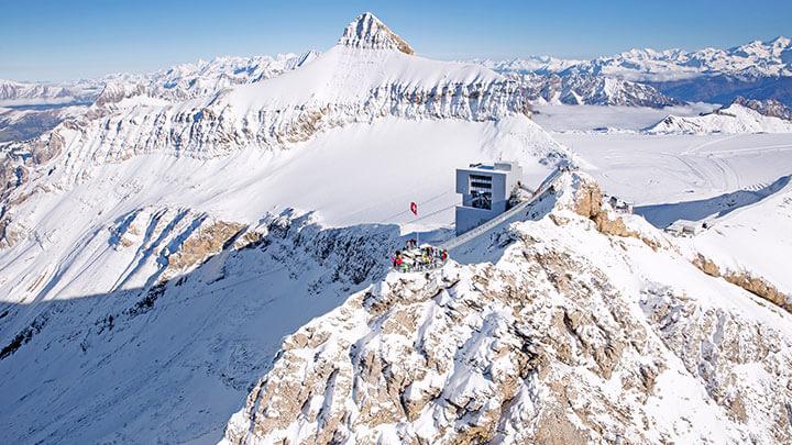 Glacier 3000 Snowboarding (Gstaad Tourismus)