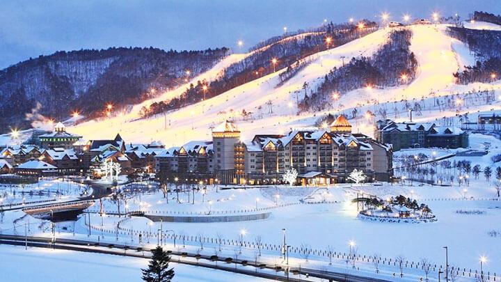 Alpensia Ski Resort, Korea