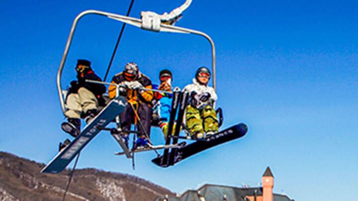 Yangji Pine Ski Resort, Korea