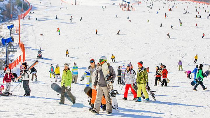 Konjiam Ski Resort, Korea