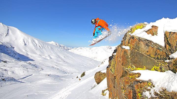 Snowboading Grau Roig, Andorra