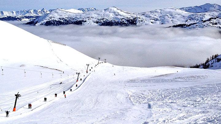Snowboarding In Saalbach-Hinterglemm-Leogang