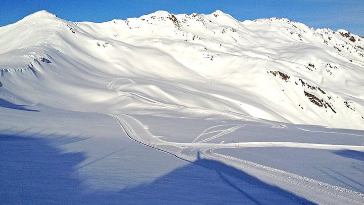 Snowboarding Konigsleiten In Zillertal (Austria)