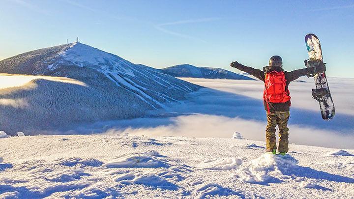 Sugarloaf Mountain Snowboarding