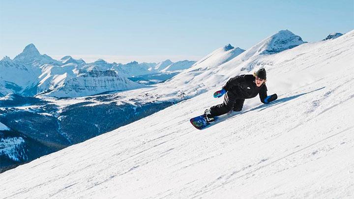 Banff Sunshine Village Snowboarding