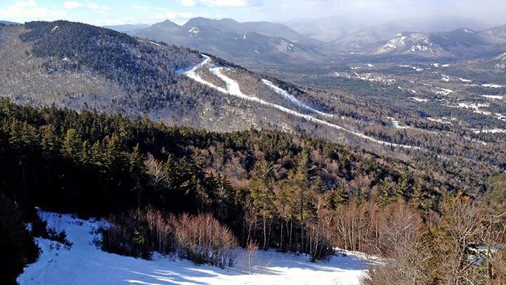 Snowboarding Wildcat Mountain, NH