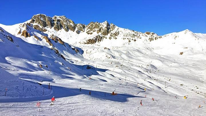 Snowboading Ischgl Silvretta