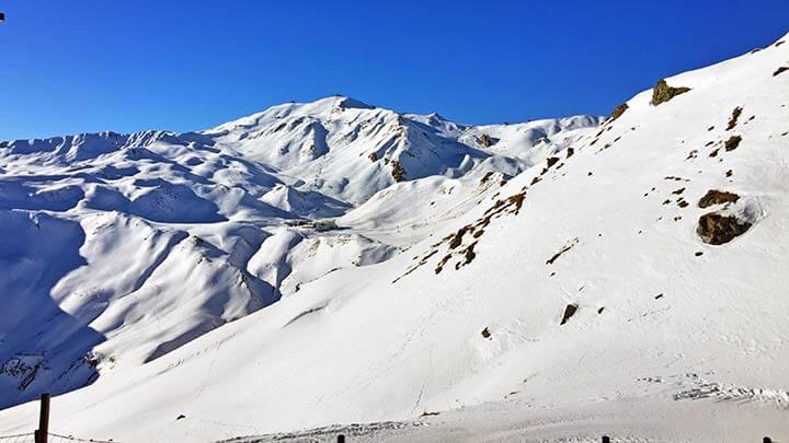 Snowboading Silvretta Arena