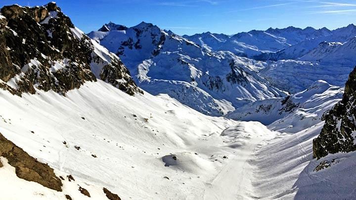 Snowboarding Lech-Zurs