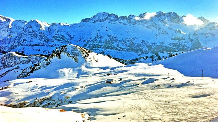 Snowboarding In Portes Du Soleil